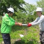 トチギ環境未来基地贈呈